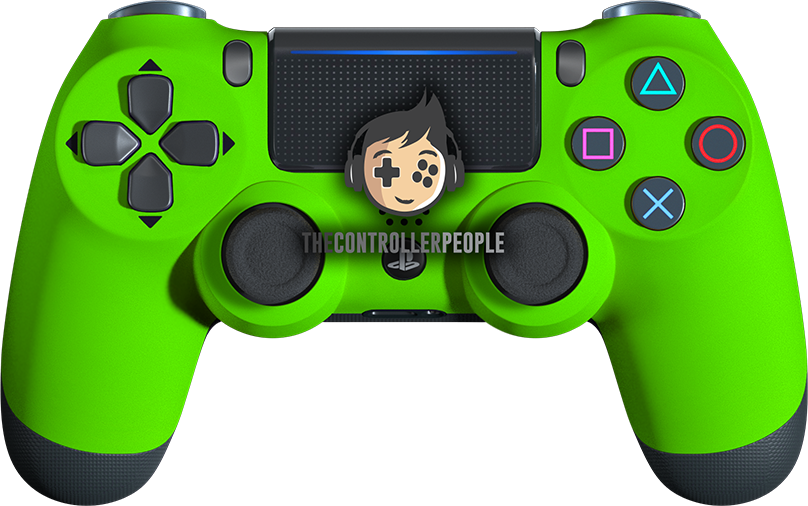 Super Soft Green PS4 Controller