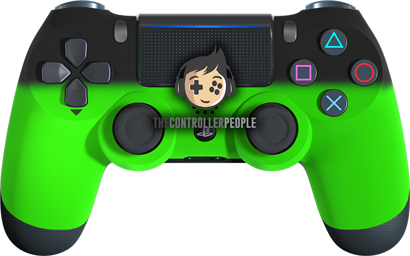 Green Shadow PS4 Controller