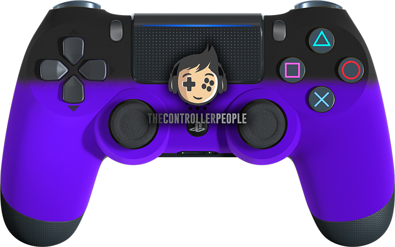 Purple Shadow PS4 Controller