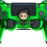chrome green ps4 controller