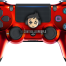 Chrome Red PS4 Controller