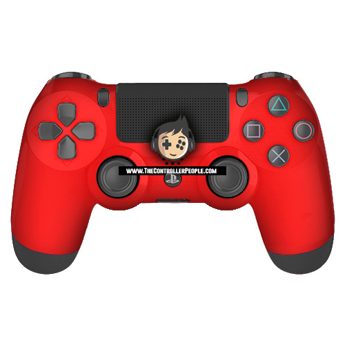 Classic Red Ps4 Controller