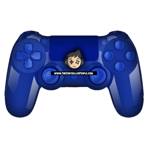 Polished Blue PS4 Controller - The Controller People