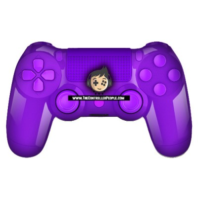 polished purple ps4 controller