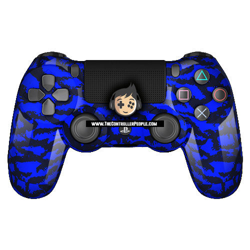blue tiger ps4 controller