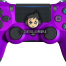 purple ps4 controller