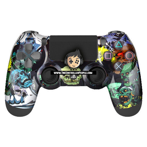 PS4 Controller Skull Party