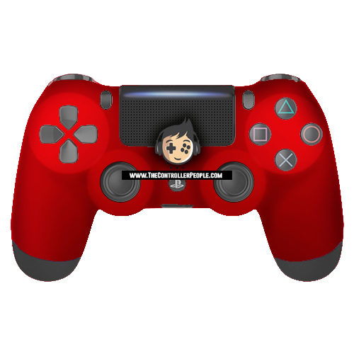 Super Soft Red PS4 Controller