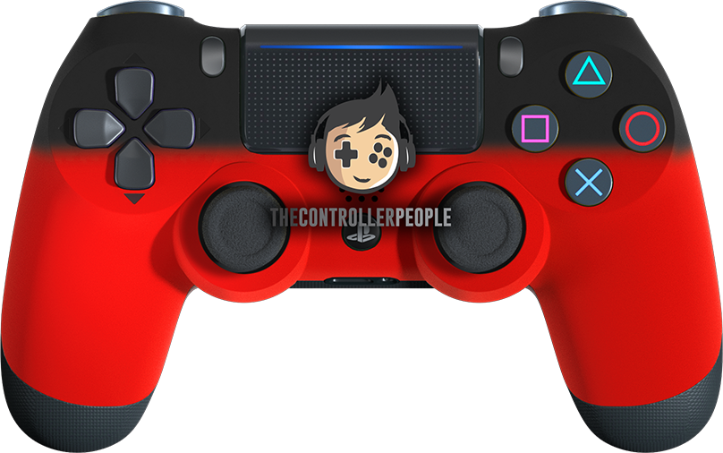 Red Shadow PS4 Controller