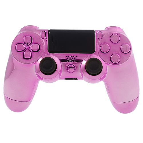 Pink Chrome PS4 controller