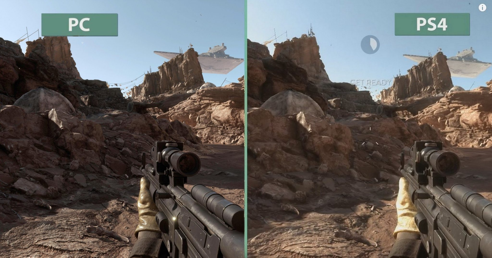 ps4 vs pc graphics