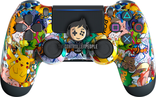 Pokemone PS4 controller