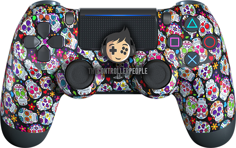 Candy Skulls PS4 Controller
