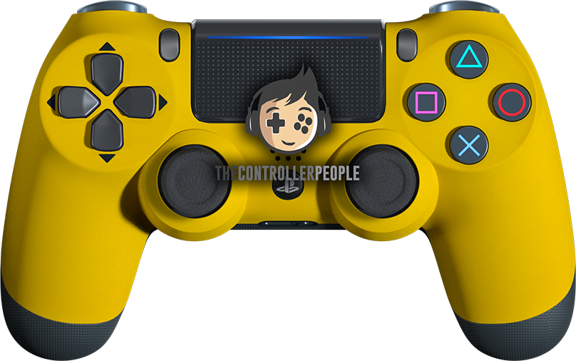 Soft Matte Yellow Controller